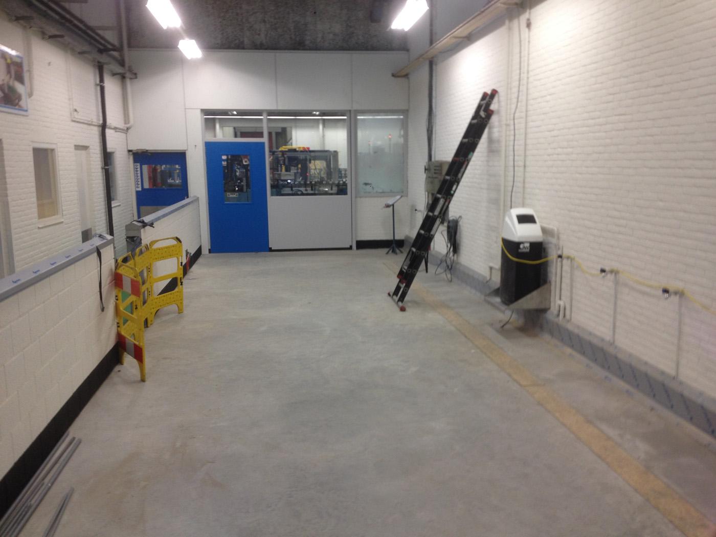 Aanpassing Werkruimte